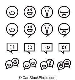 smile line icon