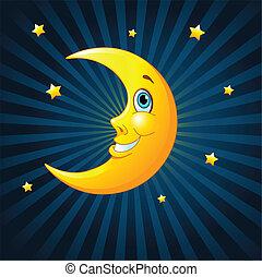 smile måne