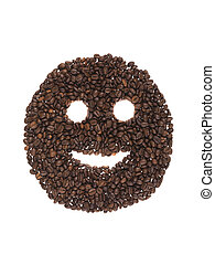 smile of coffee beans