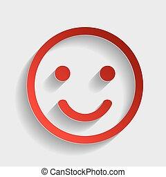 Smile sign illustration