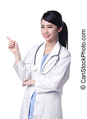 Smile woman doctor