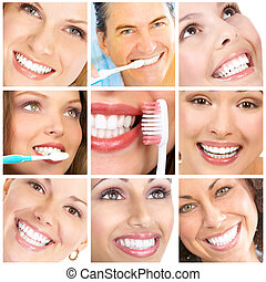 smiler, ans, tænder