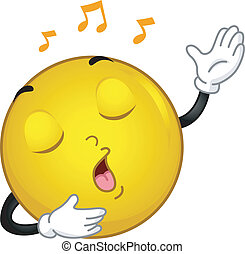 smiley, éneklés