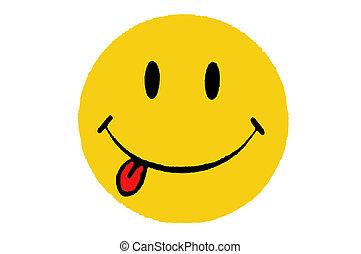 smiley, ícone