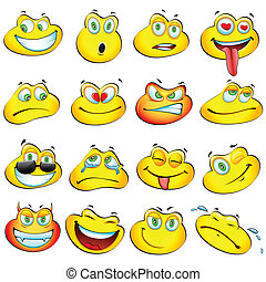smiley, żaba