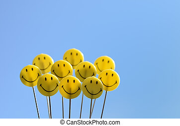 smiley αντικρύζω