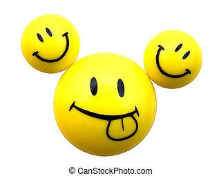 smiley, 3, 黄色