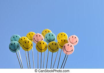 smiley, ansikte