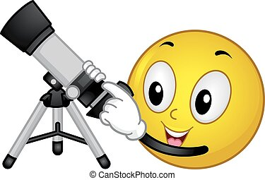 Smiley Astronomy Refractor Telescope