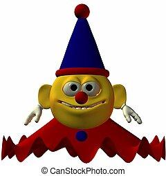 smiley-clown
