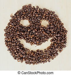 Smiley coffee 3