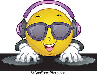 Smiley Disc Jockey