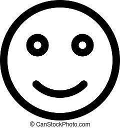 smiley, emoji