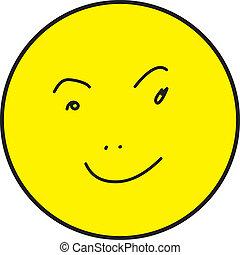 smiley enfrentam