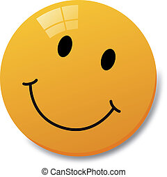 Smiley with white background