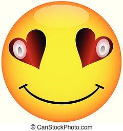 Smiley Face Button.