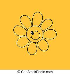 daisy winking
