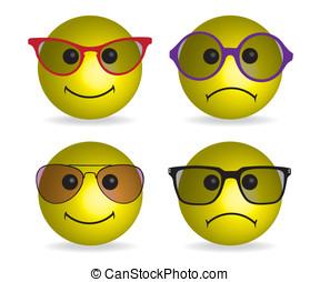 Smiley face illustration