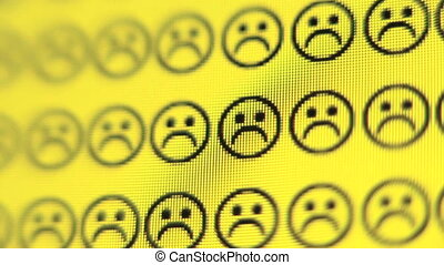 Smiley Face - Frowney faces change to smiley faces