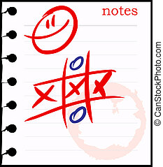 Smiley Face tic tac toe Game. - tic tac toe game with angry...