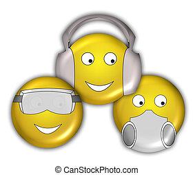 Smiley Faces - New Age - See no Evil, Hear No Evil, Speak No...