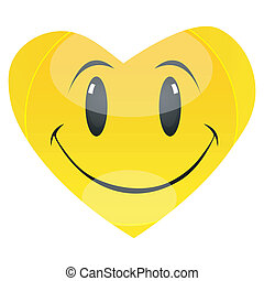 smiley heart