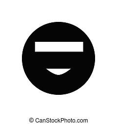 Smiley incognito icon