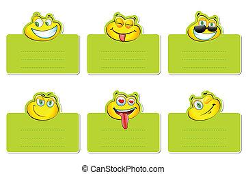 Smiley Label