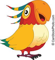 parrot - Smiley parrot