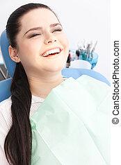 Smiley patient