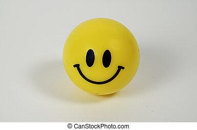 Smiley - Photo of Smiley Ball