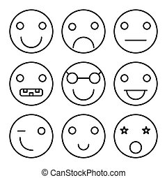 Smiley set icons