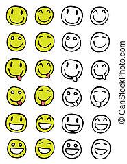 Smiley set