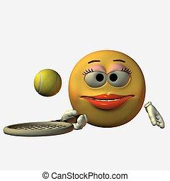 Smiley - Tennis