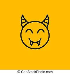 Smiley vampire