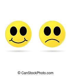 smiley yellow illustration