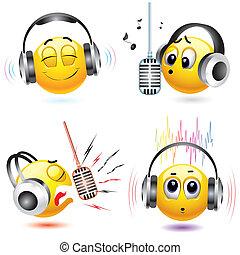Smileys - Music and smiling balls %u2013 smiling balls...