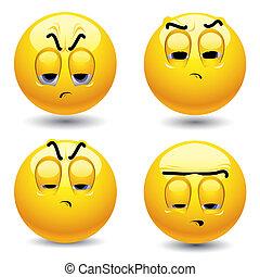 Smileys - Smiling balls singing in choir