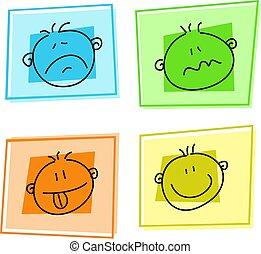 smilie, ícones