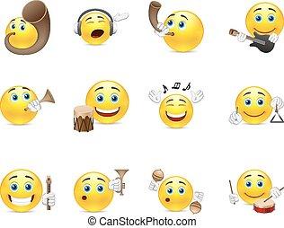 smilies, muzikalisch