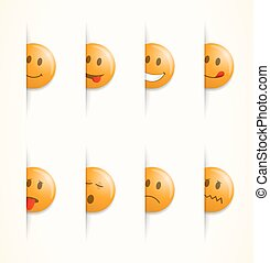 Smilies, set of emoticons