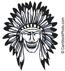 Smiling Apache