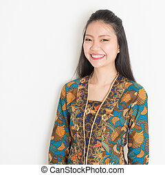 Smiling Asian girl