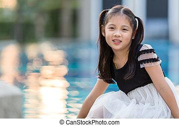 Smiling Asian Kid