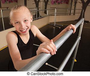 Smiling Ballet Student
