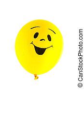 Smiling balloon