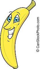 Smiling banana 2