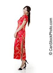 Smiling beautiful asian young woman