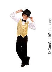 Smiling Boy Dancer