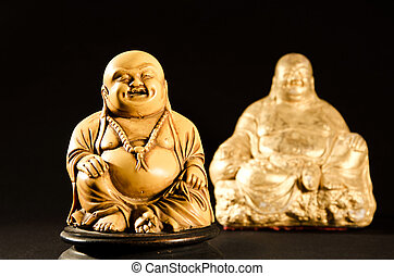 Smiling Buddha God of Happiness
